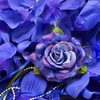 ROYAL BLUE Flower Petal Set