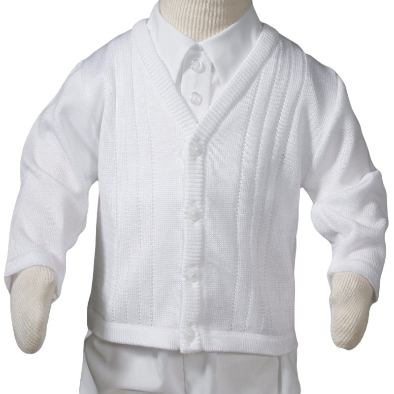 12-18 3-6 18-24 months Free P/&P *NEW* Baby Boys Knitted Cardigan 0-3 6-9