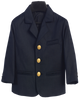 Navy Blue Blazer Jacket w Gold Anchor Buttons Boys (601)
