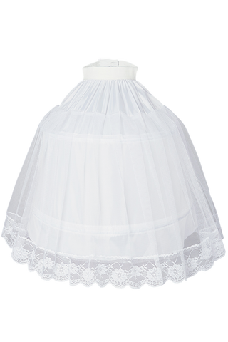 Half Hoop Petticoat with 2 Stays & Soft Nylon Girls (PC004)