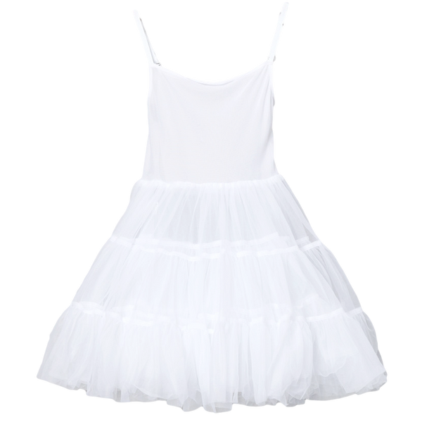 Full Petticoat Adjustable Straps & Bouffant Nylon Girls (PC001)