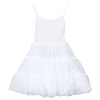 Girls Full Petticoat with Adjustable Bodice & Bouffant Skirting