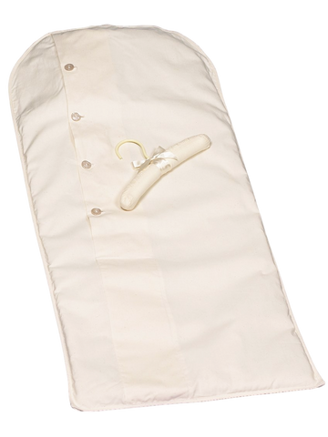 Long Term Storage Preservation Garment Bag 100% Muslin in 2 Sizes (Baby & Toddlers)