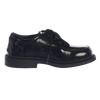 Black Patent Finish Oxford Lace Tie Dress Shoes Boys (Seth)