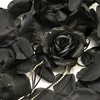 BLACK Flower Petal Set