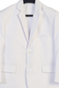 Boys White Two-Piece Suit w. 2-Button Jacket & Trousers  3580