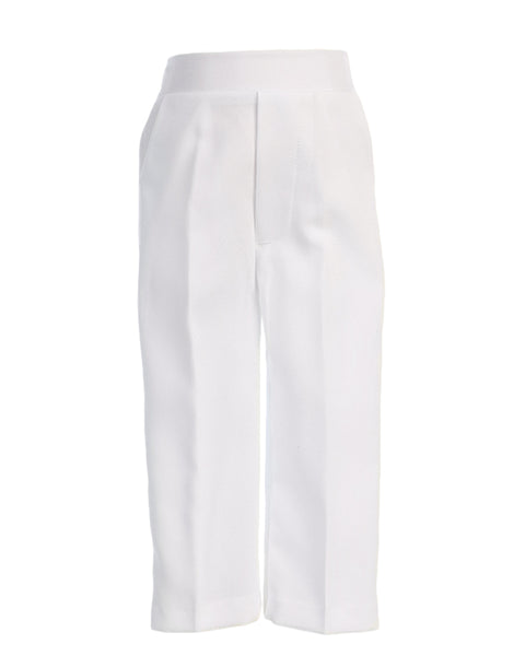 Boys White Dress Pants Trousers  P90