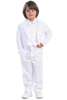 Boys White Classic Tailcoat Tuxedo w. Satin Paisley Trim 7900