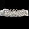 Rhinestone Crown Tiara with Veil First Holy Communion (T-412)