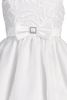 Ribbon Embroidered Tulle & Organza First Holy Communion Dress w Taffeta Trim (Girls 5 to 12 & Plus Sizes)