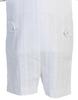 Embroidered Cotton Christening Romper 3 Pc White Outfit (Archie)