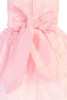 Pink Floral Burnout Organza Overlay Easter Spring Dress (Baby, Toddler & Girls Size)