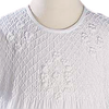 Embroidered & Smocked Cotton Handmade Christening Gown (CO04GS)