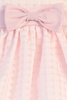 Girls Pink Satin w. Burnout Organza Overlay Dress 6m-12