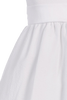 White Cotton Seersucker Dress w. Polysilk Sash 6m to Girls 12