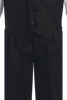 Boys Black 4-pc Vest & Trousers Dresswear Set  8570