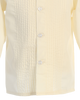Boys Ivory Pleated Tuxedo Dress Shirt  820