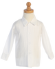 Boys White Pleated Tuxedo Dress Shirt  820