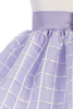 Lilac & Ivory Shantung & Embroidered Organza Easter Spring Dress (Baby 6 Months - Girls Size 12)