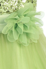 LIME GREEN - Flower Pin FL003