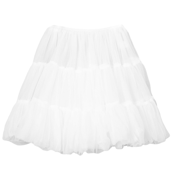 Half Petticoat with Layered Soft, Fluffy Bouffant Nylon (Girls 2T - Size 10)