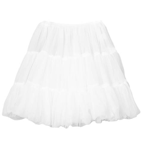 Girls Petticoat Underskirt with Soft Layered Bouffant Nylon 2T-10