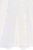Floral Lace Girls Communion Dress w. Split Organza Skirt  SP975