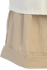 Boys Khaki Linen Blend Shorts & Shirt Dressy Set 3m-4T