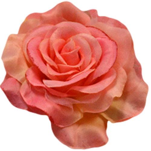 Poly silk flower pin roses in 23 color choices for girls rachels coral waist flower pins fl001 mightylinksfo