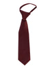 Burgundy Satin Boys 4-pc Vest Set w. Ties & Pocket Square  738