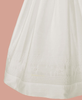 Smocked & Embroidered Silk Handmade Christening Gown (DP10GS)