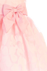 Girls Pink Satin & Floral Burnout Organza Dress 3m-10