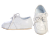 Oxford Dress Shoes White with Rubber Soles Infant Boys  (Drew)