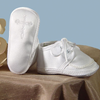 Embroidered Celtic Cross Satin Christening Shoes Boys (2CRBAS)