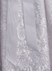 Floral Embroidered Organza Baby Girls Christening Gown w. Venice Lace  Emily