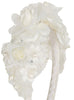 Girls Ivory Multi-Flowered Headband with Pearl Sprigs HB034