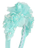 Girls Mint Multi-Flowered Headband with Pearl Sprigs HB034