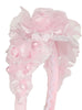 Girls Pink Multi-Flowered Headband with Pearl Sprigs HB034