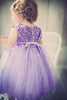 Baby Girls Dusty Rose Pink Sequin Party Dress with Lettuce Tulle Hem KD315