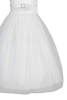 Lace Trimmed Satin & Tulle Girls Plus Size First Communion Dress SP140