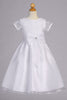 Corded & Sequined Girls Communion Dress with Organza Skirt SP155