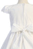 Smocked White Cotton Girls First Holy Communion Dress sp178