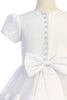 Satin, Tulle & Bridal Buttons Girls First Holy Communion Dress sp708