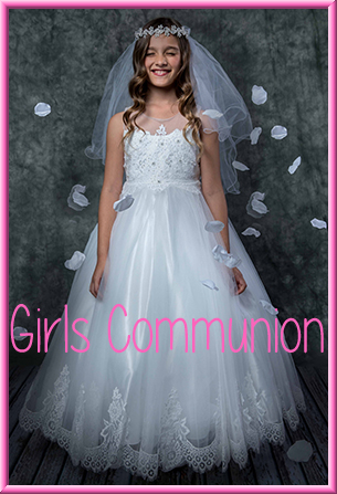 Girls First Holy Communion Dresses Gowns