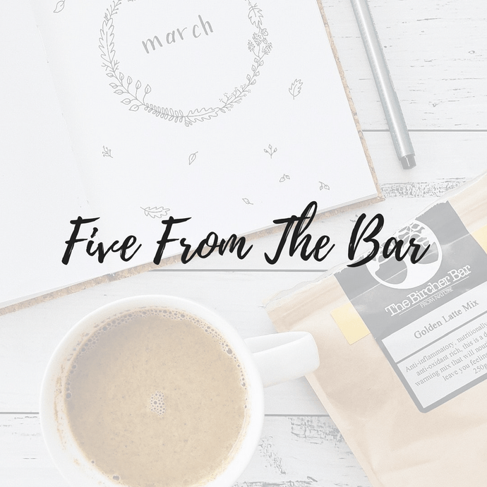 Five From The Bar - First Edition!