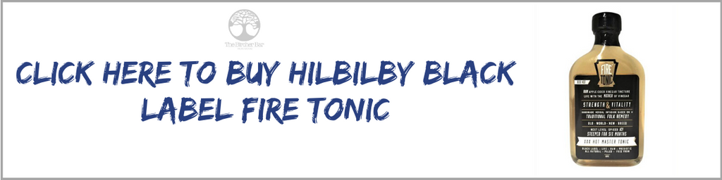 Hilbilby Black Label Fire Tonic