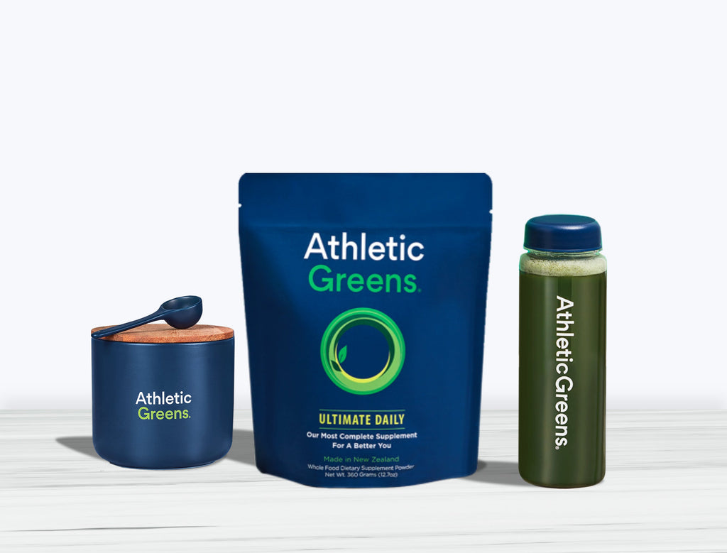 Athletic Greens supplement
