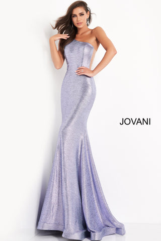 Jovani 06367 is a shimmering long fitted metallic formal evening gown. Featuring a one shoulder neckline with sheer side panels and mesh inserts. Fitted bodice with a lush trumpet mermaid skirt and gorgeous sweeping train. Perfect for the stage or Glamorous formal events such as Prom & Pageants! Available Sizes: 00,0,2,4,6,8,10,12,14,16,18,20,22,24  Available Colors: Iris, Turquoise