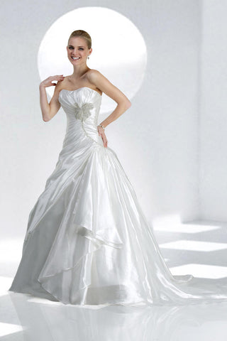 Impression Bridal Gown 10049 Size 24 Diamond White Wedding Dress