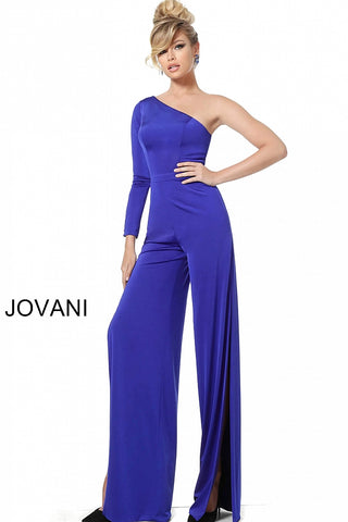 Jovani 1430 Hot Pink and Royal Sizes 00-24